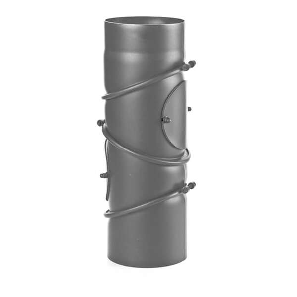 Ø 150 mm Coude multiple pivotant - Gris fonte