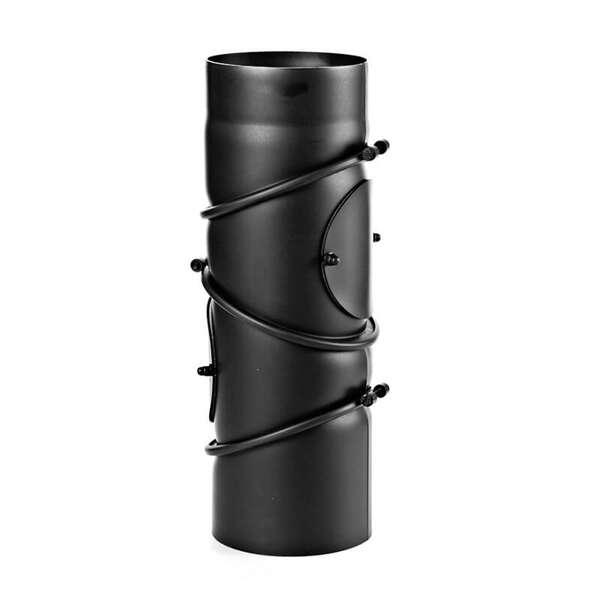 Noir /Ø 150 mm Coude multiple pivotant