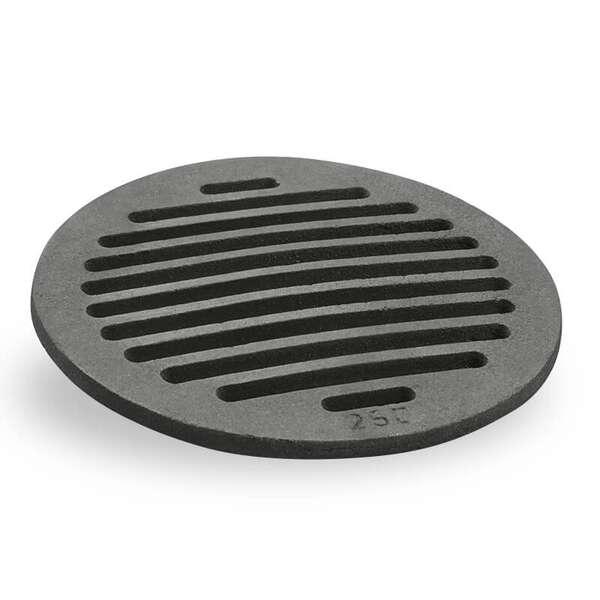 grille de cendres ronde 25 cm en fonte chez chez. Black Bedroom Furniture Sets. Home Design Ideas
