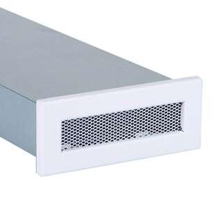 Grille De Ventilation Pour Conduit Plat Blanc